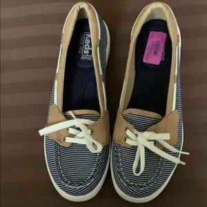 KEDS STRIPPED SHOES